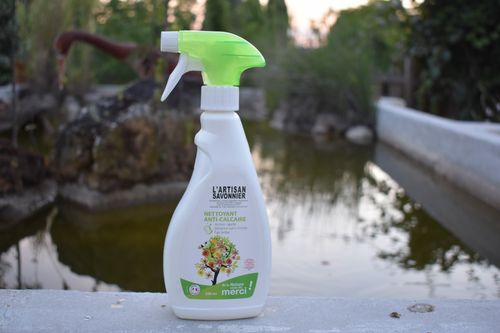 Anti calcaire naturel en Spray l'Artisan savonnier