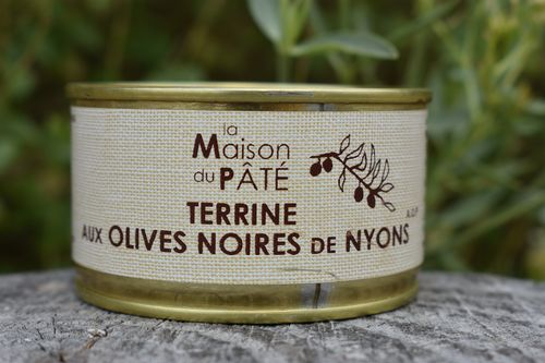 Terrine aux olives de Nyons, fabrication artisanale