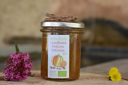 Confiture melon calisson BIO - Terres d'Uzes