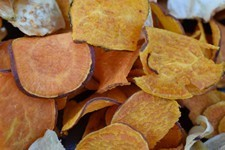 Chips de patates douces bio