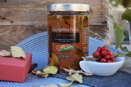 Courgettes frites tomate 580 ml Conserverie Guintrand Provence