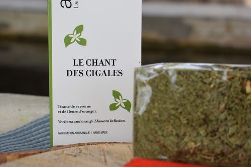 Le chant des cigales - tisane infusion